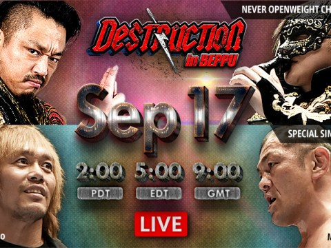 NJPW Destruction In Beppu 2018 Results