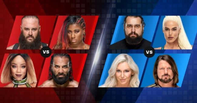 WWE Mixed Match Challenge Results - October 30, 2018