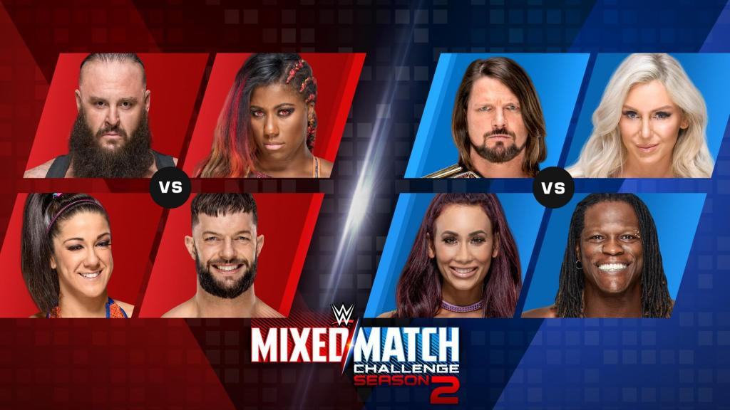 WWE Mixed Match Challenge Results - October 9, 2018