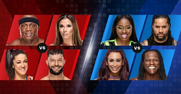 WWE Mixed Match Challenge Results - November 6, 2018