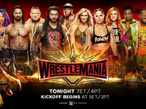 WWE WrestleMania 35 Results