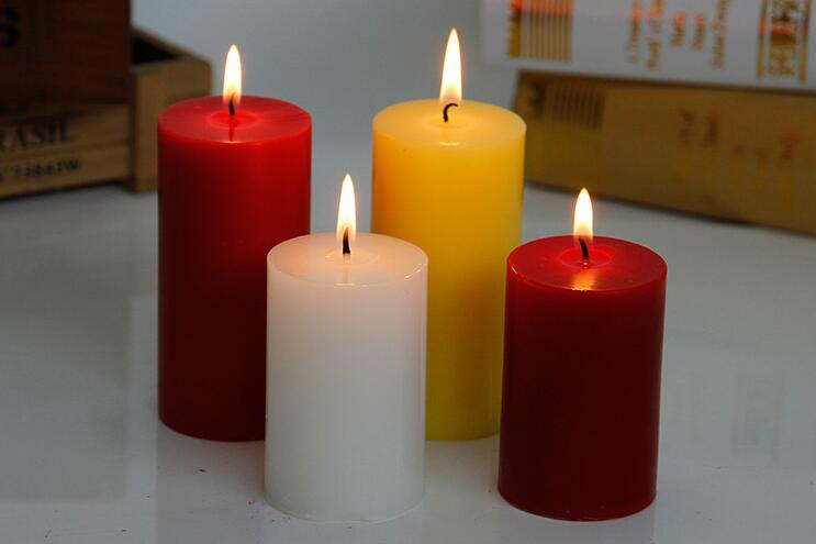 Colorul Cylinder Shaped Aromatherapy Paraffin Wax Candle
