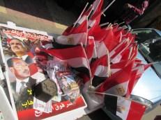Merchandising de Sisi, el ex jefe militar, devenido en candidato presidencial