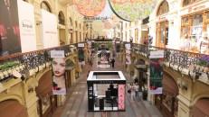 Shopping de lujo en la Plaza Roja