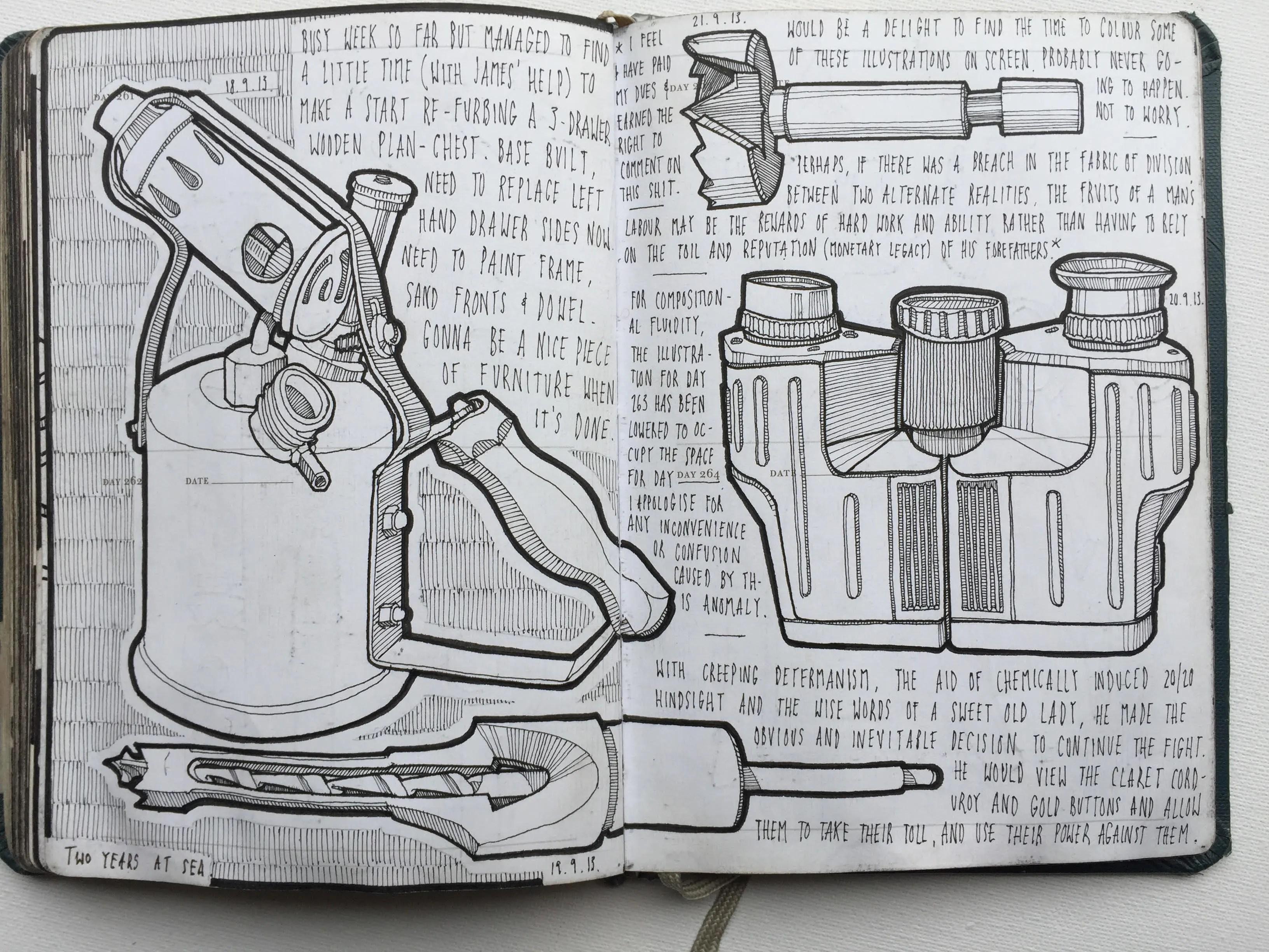 Lee John Phillips - Sketch Books