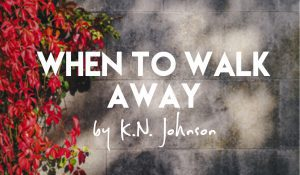 When to Walk Away, by K.N. Johnson