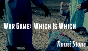 War Game: Which is Which, by Nomi Stone