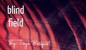 blind field, by Tayo Basquiat