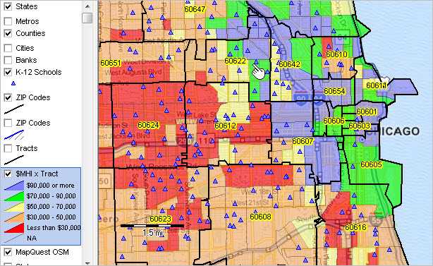 Census Tract Demographics by ZIP Code | Decision-Making Information ...