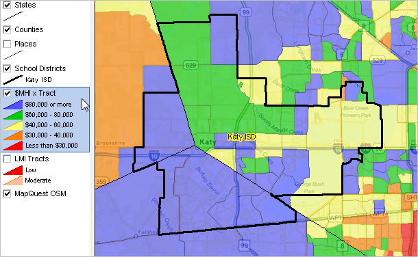 Katy Isd School Boundaries Map