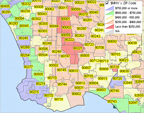 Tip Of The Day Median Housing Value By Zip Code Decision