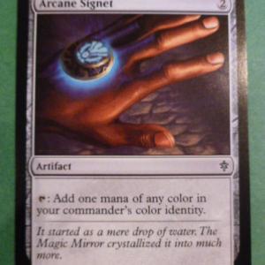 Arcane Signet  black core