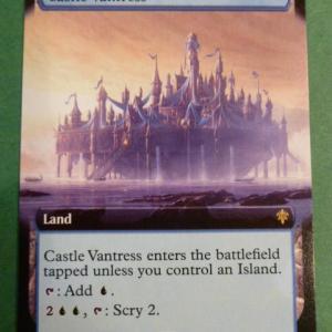 Castle Vantress Full Art Holo black core