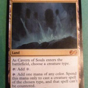 Cavern of souls Ultimate Masters Holo black core