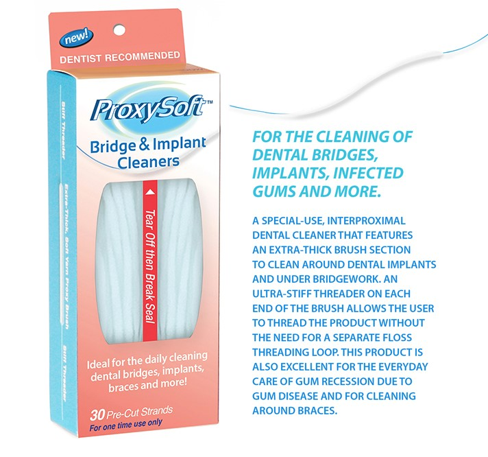 Picture of ProxySoft Bridge & Implant Cleaners and product features