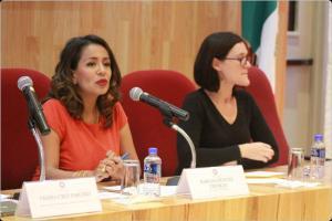 Importante legislar con perspectiva de género en los procesos de detención: Mariana Benítez