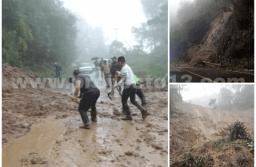 Pide PC extremar precauciones por derrumbes en carretera Orizaba-Zongolica
