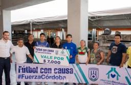 Cafetaleros entrega apoyo a los afectados del Mercado Revolución