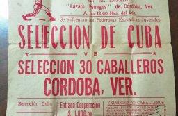 Cordobita jugó en el Ruperto Santiago en 1963