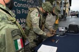 Inician canje de armas y municiones por dinero en efectivo, en Córdoba