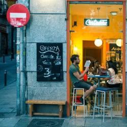 """Madrid en verano (fragmento)"" - J.G. Damlow - 040815"
