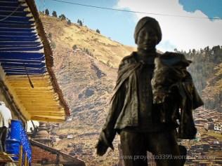 Héroes del Bicentenario, Instalación (calle Marquéz, Cusco)