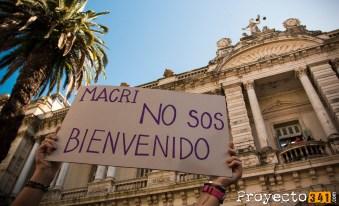 Miles de personas se acercaron a mostrar su descontento con la visita presidencial © Ana Isla, proyecto341.com reservados todos los derechos / all rights reserved