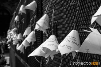 Distintas intervenciones se vieron durante la marcha a Plaza de Mayo Fotografía: © Sebastián Criado, proyecto341.com reservados todos los derechos / all rights reserved