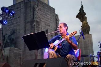 Jorge Fandermole abrio el show musical. Fotografía: © Sebastián Criado, proyecto341.com reservados todos los derechos / all rights reserved