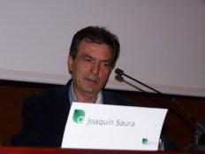 Joaquín Saura, de Lloba Natural, en las Jornadas Agros