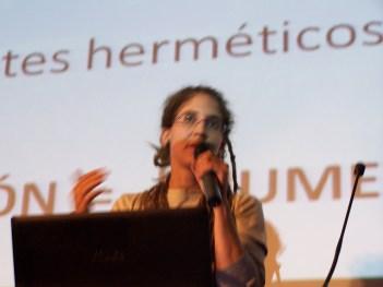 Mónica Herrera, de CERAI, en las Jornadas Agros