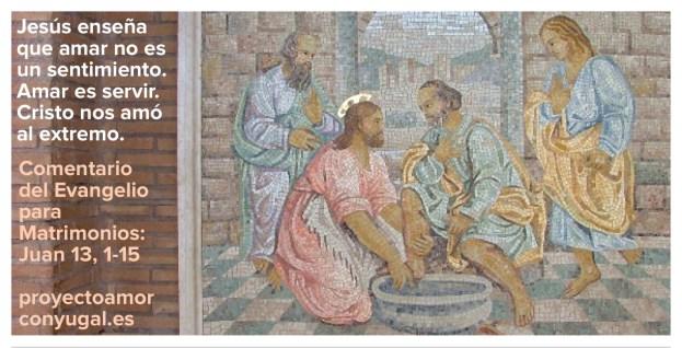 Jesús enseña a amar - Proyecto Amor Conyugal