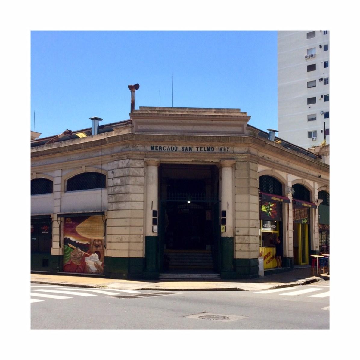 Mercado de San Telmo.