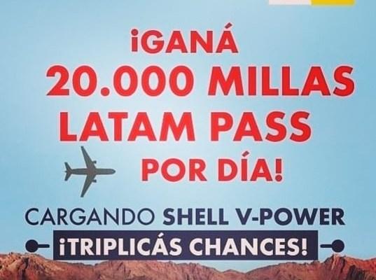Latam Pass Shell Sorteo Millas Viajar Gratis 1