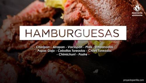 Proyecto Parrilla Restaurante - Hamburguesas