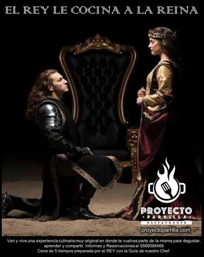 El Rey le cocina a la Reina en Proyecto Parrilla