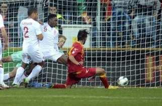 Damjanovic, en el momento de anotar el empate | FOOTBALL365.com