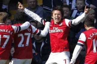 Sufrida victoria del Arsenal ante un buen Bromwich