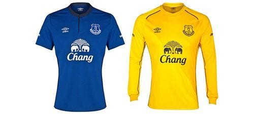 Así vestirá el Everton en la 2014-2015 | Home & Away kit