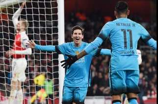 Messi destruye el orden del Arsenal