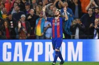 Con Messi basta para hundir al Manchester City