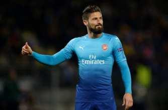 Giroud alcanza los 100 goles con el Arsenal