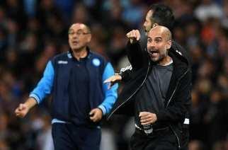 Pep Guardiola le gana la batalla a Maurizio Sarri