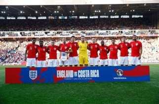 El once inicial de Inglaterra para el Mundial 2018