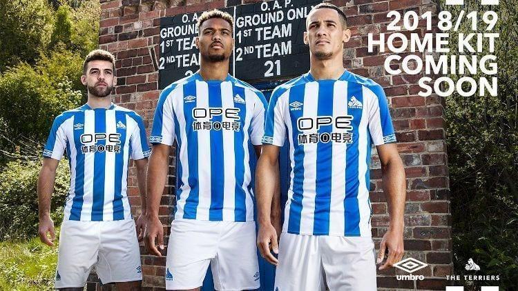 Huddersfield Kit Jersey Camiseta 2018-19
