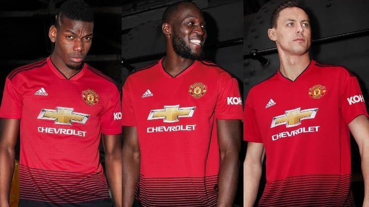 Manchester United Kit Jersey Camiseta 2018-19