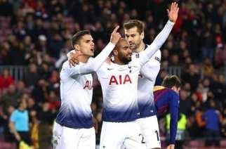 Pase con suspende del Tottenham a Octavos