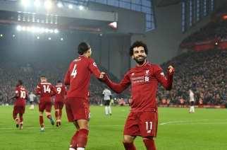 El Liverpool, más líder tras exhibirse ante el Newcastle