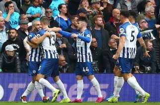El Brighton ahonda en la crisis del Tottenham