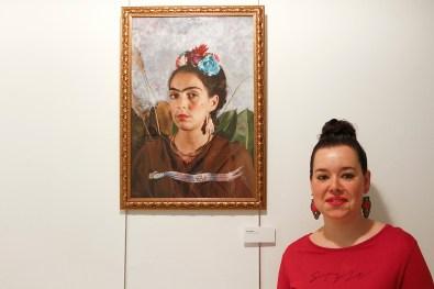 """Isabel García """"Autorretrato de Frida"""""""